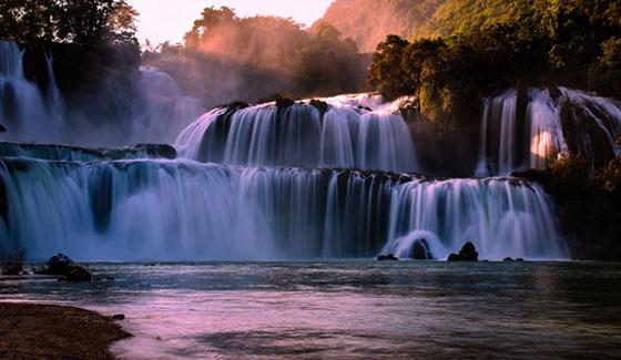 Dang hinh anh Kham pha du lich Viet Nam Nhin ngam thac Ban Gioc - Khám phá du lịch Việt Nam